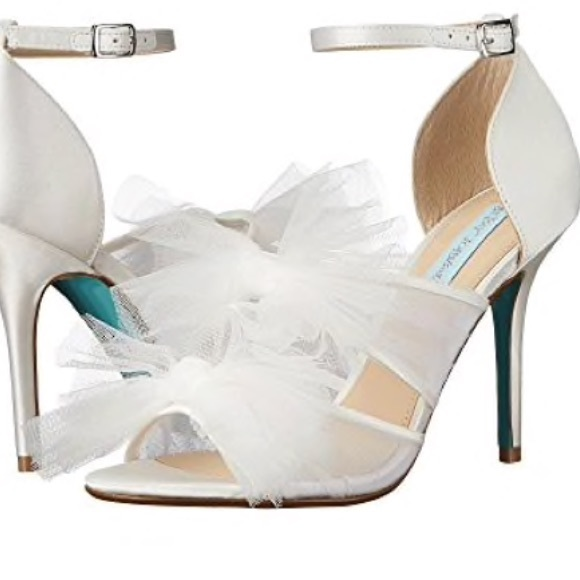 5810adb6297 NIB Blue by Betsey Johnson wedding shoes!